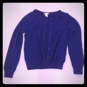 Blue H&M cardigan